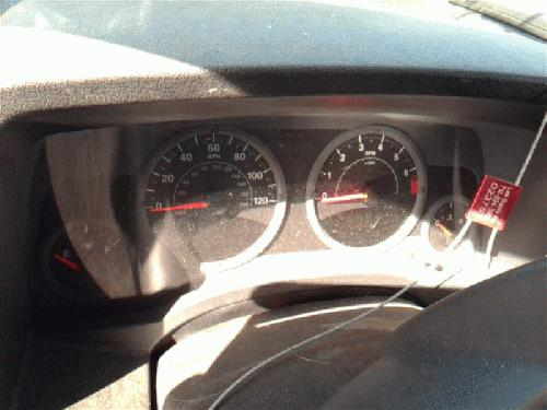 Jeep COMPASS 2007 Speedometer Head /Cluster 257-05756 NGI430