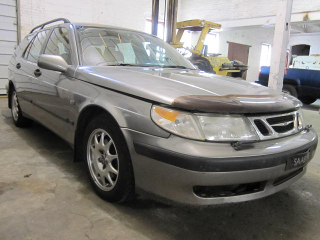 Parting out a 2001 Saab 9-5
