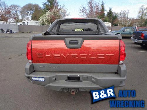 2002 chevrolet avalanche 1500 rear axle assembly 21991023 435 02041b. Black Bedroom Furniture Sets. Home Design Ideas