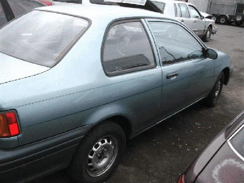 Toyota TERCEL 1994 Right Side Quarter Glass