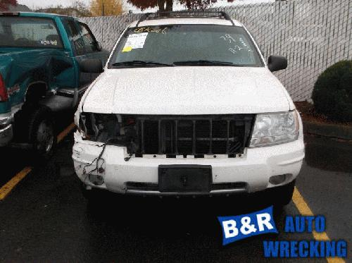 Jeep CHERGRAND 2004 Front Axle Assembly (4WD) 434-01918 CEK006