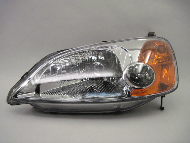 HEADLIGHT LAMP ASSEMBLY Honda Civic 2001 01 2002 02 2003 03 Left 580114