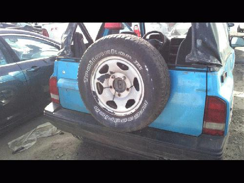 Geo TRACKER 1994 Rear Or Back Door Assembly