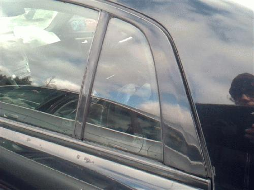 Acura TL 2004 Left Side Rear Door Vent Glass 279-56685L GHB257