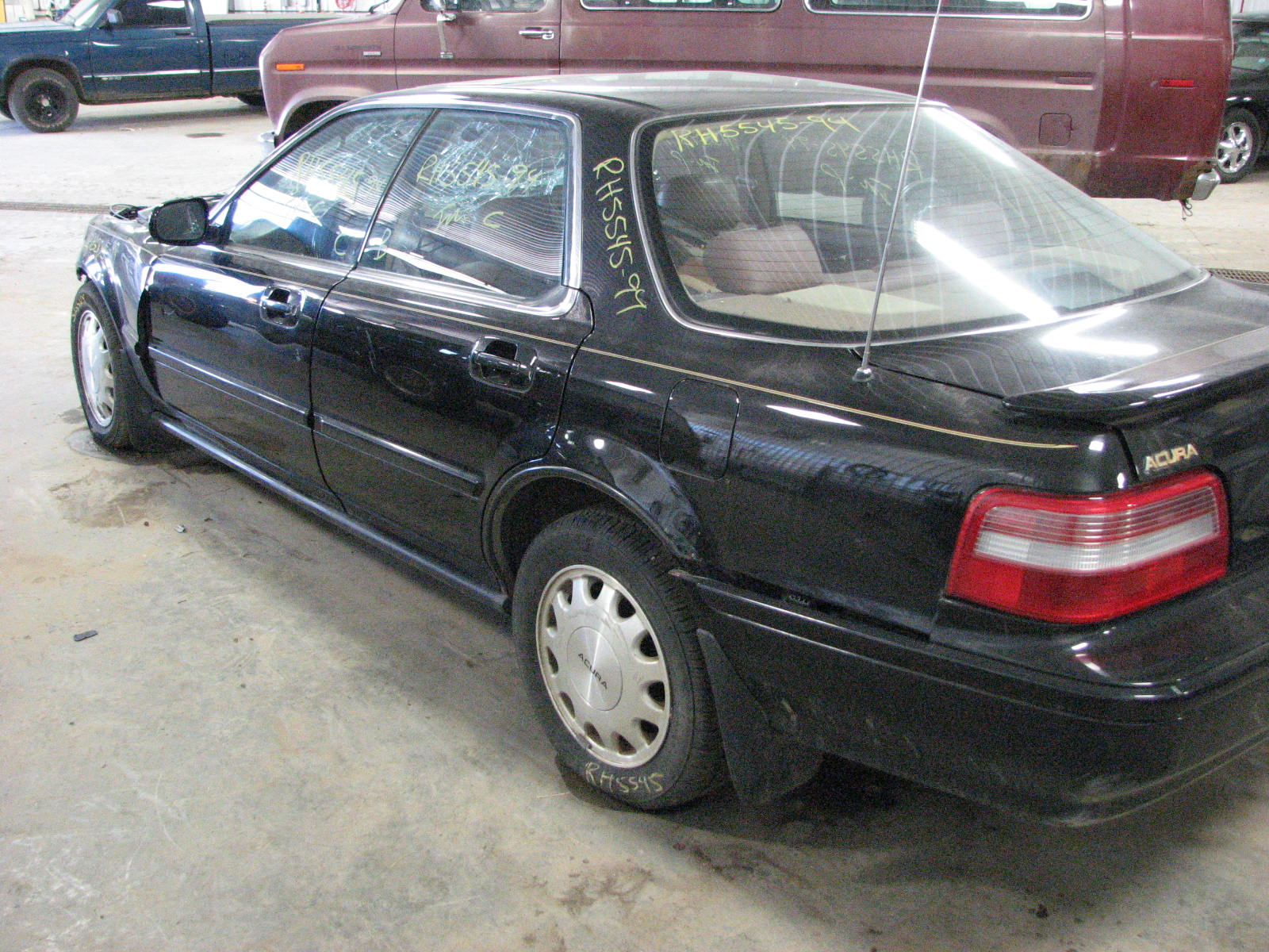 1994 acura vigor tape radio 638 56690 966446