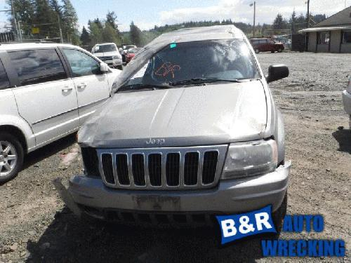 Jeep CHERGRAND 2002 Front Axle Assembly (4WD) 434-01917B NGE983