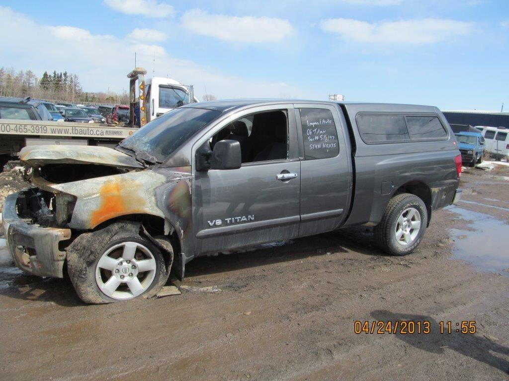 Nissan  TITAN 2006 For Parts S9497
