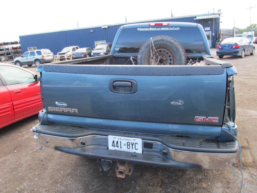 GMC  GMC SIERRA 1500 2006 For Parts 286408