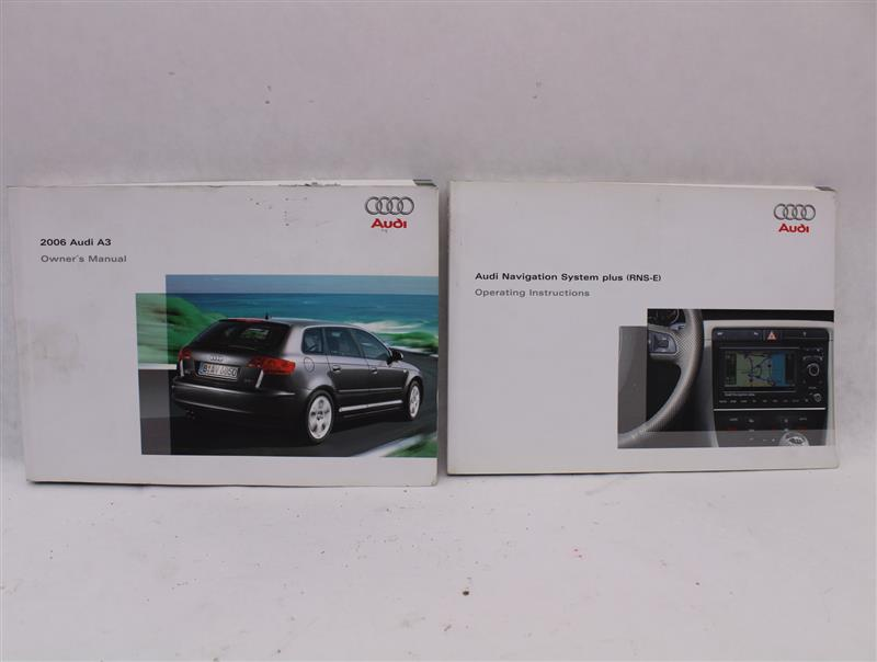 OWNERS MANUAL Audi A3 2006 06 873997