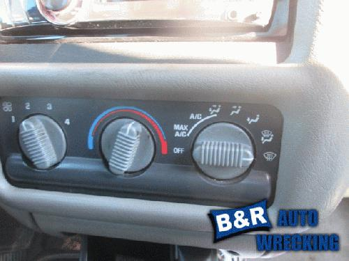 Chevrolet S10PICKUP 1998 Temperature Control 655-00720 NDL414