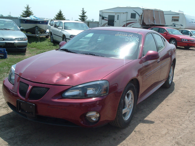 2004 pontiac grand prix automatic transmission 15390 miles. Black Bedroom Furniture Sets. Home Design Ideas