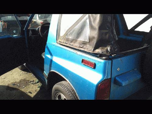 Geo TRACKER 1994 Left Side Quarter Panel Assembly
