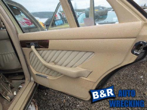 Mercedes Benz 420sel 1990 Interior Trim Panel Rear Door 21727280 205 Mb1t90