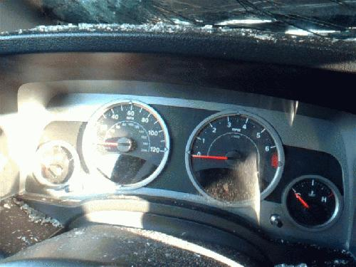 Jeep COMPASS 2007 Speedometer Head /Cluster 257-02832 BGL150