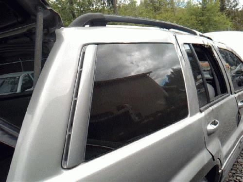 Jeep CHERGRAND 2002 Right Side Quarter Glass 284-06061BR NGE983