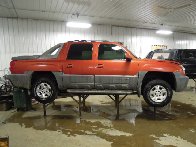 2002 chevy avalanche 1500 transfer case