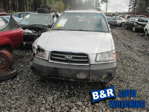 Subaru FORESTER 2004 Left Side Quarter Glass
