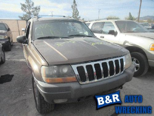 Jeep CHERGRAND 2001 Left Side Rear Door Glass 278-05679BL LGB079