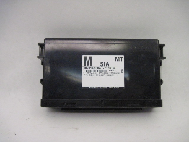 <em>Integrated</em> <em>Control</em> <em>Module</em> Subaru Legacy 2005 05 Manual