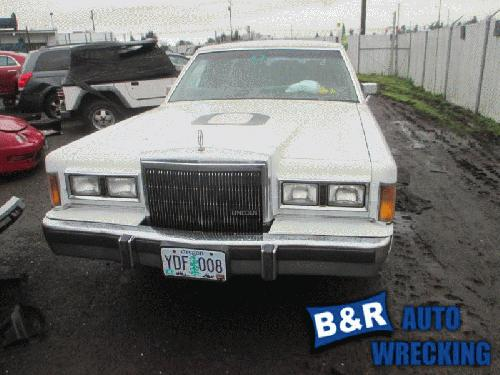 Lincoln Town Car 1989 Rear Axle Assembly 30296152 435 01180c
