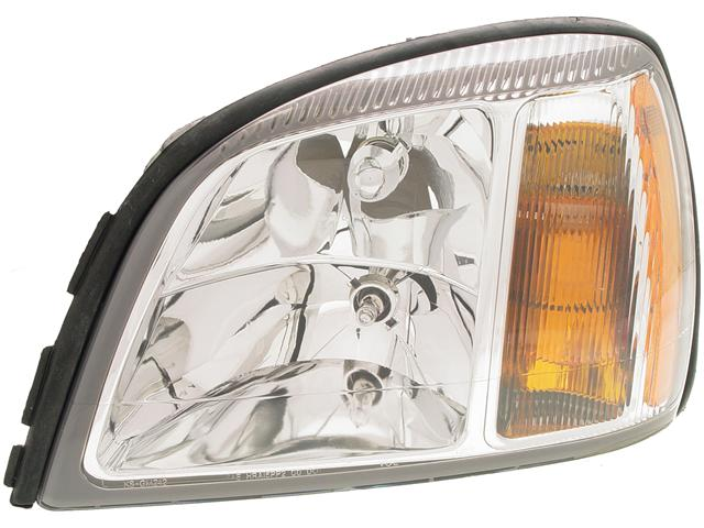 HEADLIGHT LAMP ASSEMBLY Cadillac Deville DTS 2005 05 Left (GM2502240) 622458