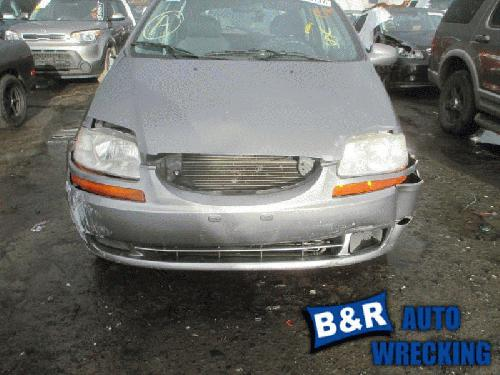 Chevy Aveo Radiator Support Page 2