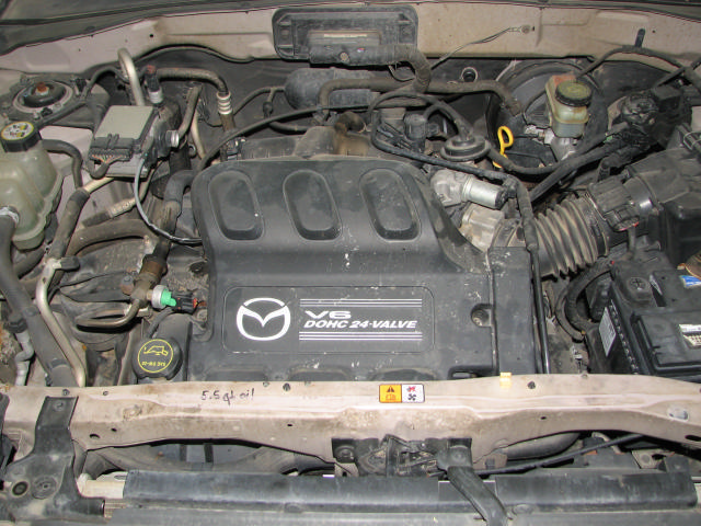 2001 Mazda Tribute 3 0l Engine Motor  20029638