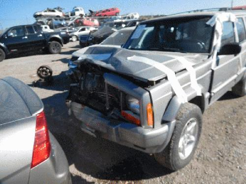 Jeep CHEROKEE 2001 Left Side Center Pillar 198-01833L RGJ375