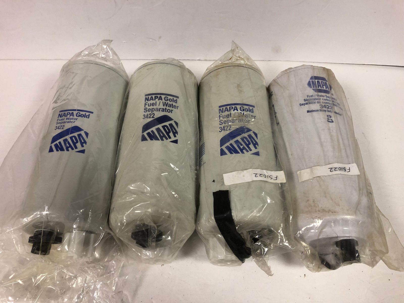 Napa Fuel Filter Page 2 Filters Lot Of 4 3422 Emnapa Em