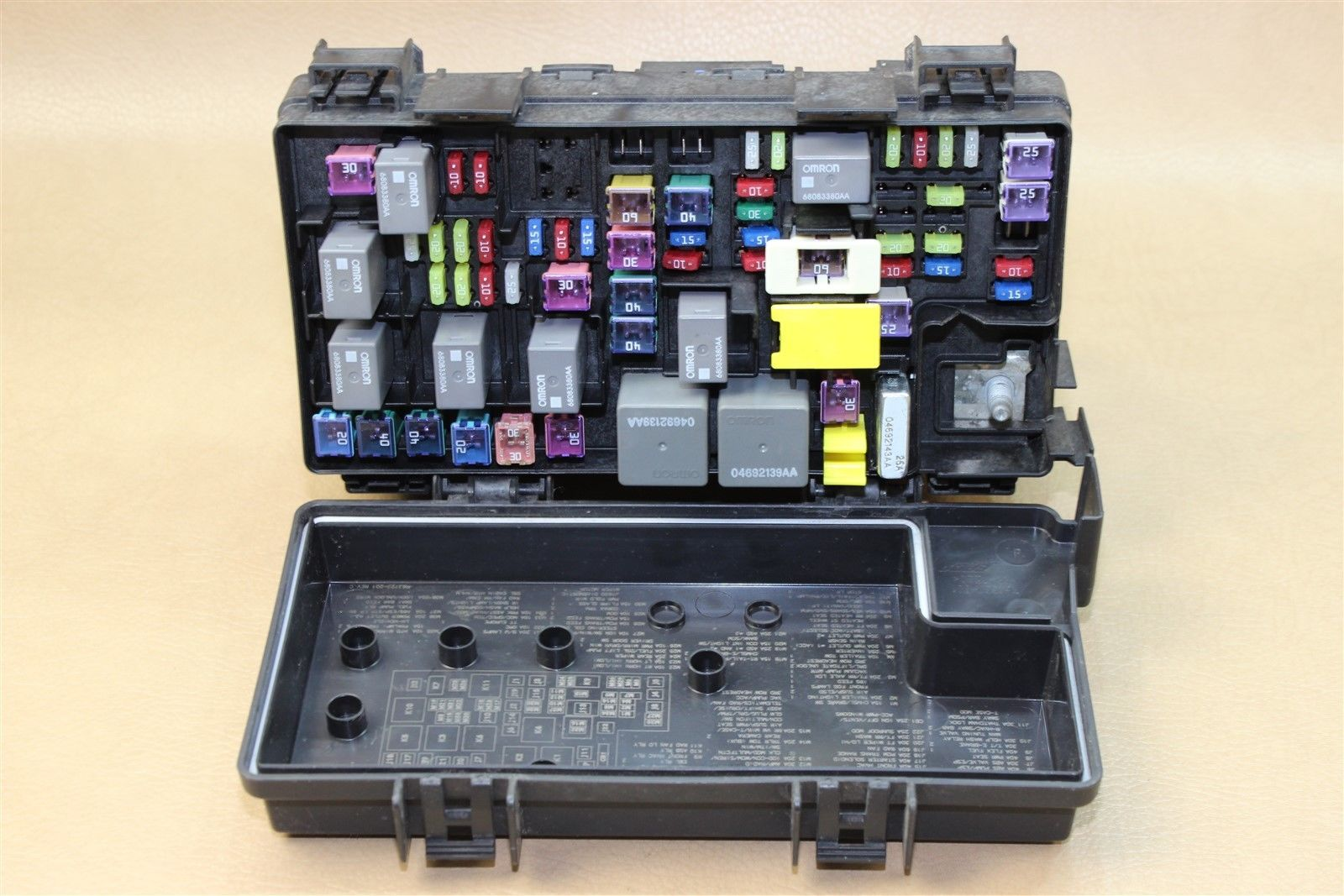 Reman 2011 Wrangler 38l Tipm Temic Integrated Fuse Box Module Jeep Unlimited 04692332ae Oem Does Not Apply
