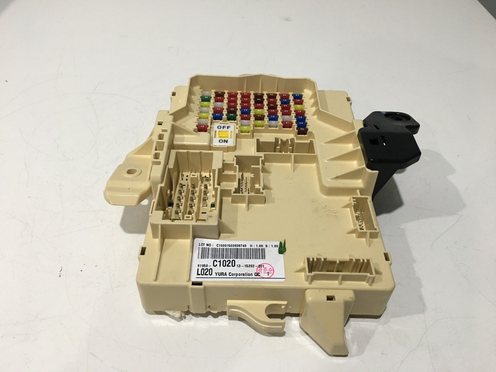 2015 Hyundai Sonata Fuse Box Relay 91950 C1020 Oem Mg 2012