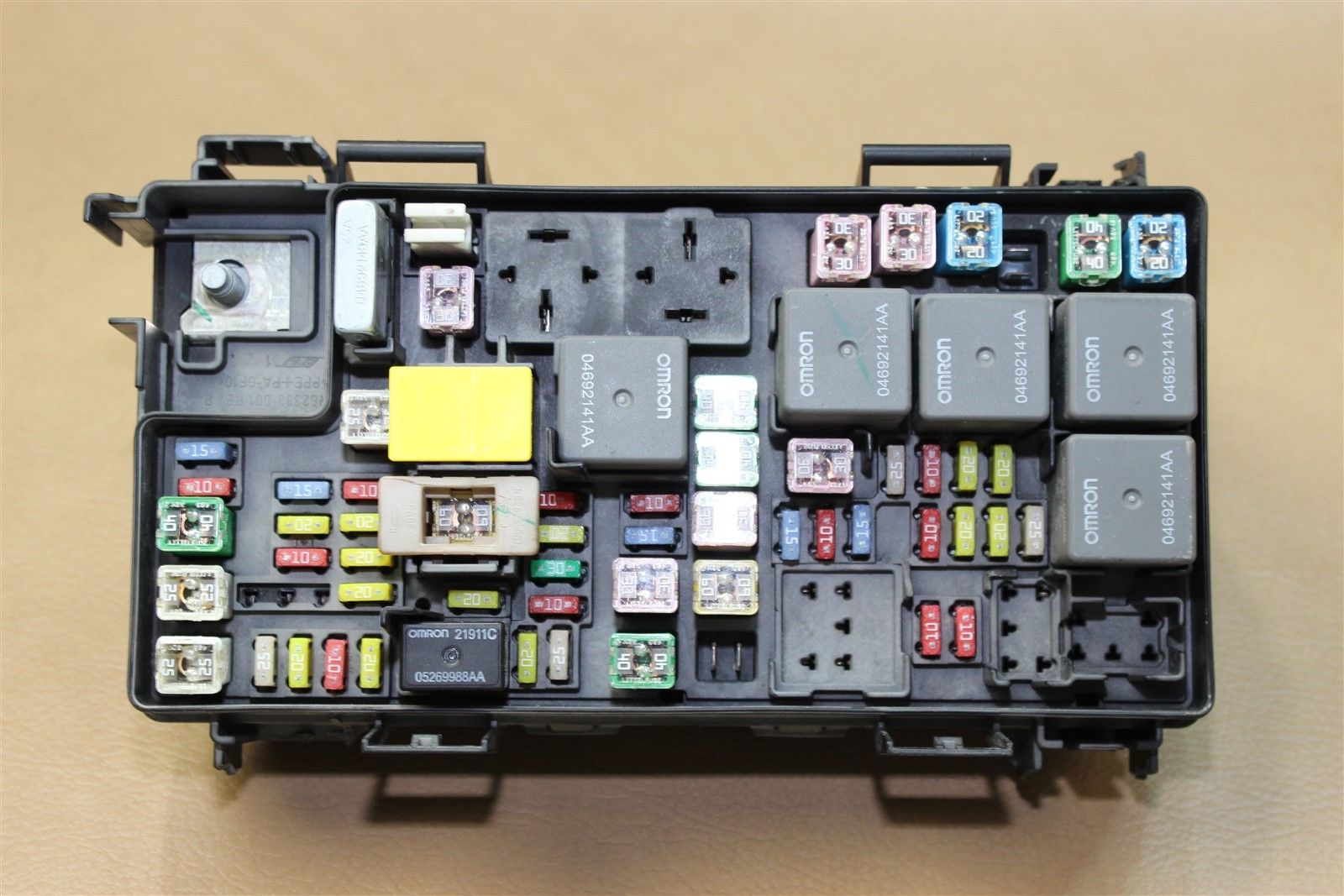 Reman 07 Dodge Nitro Tipm Temic Totally Integrated Fuse Box Module 56049721aj Oe Does Not Apply