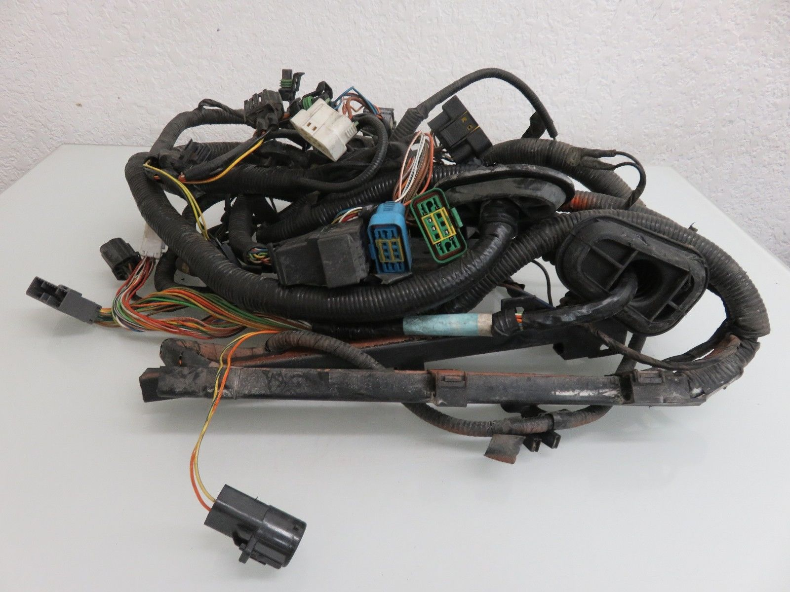 97 03 Jaguar Xk8 X 100 Uncut Front Head Light Lamp Wiring Harness Oem