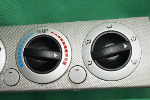 2005-10 Toyota Tacoma Defrost Heat Air AC Temp Climate Control Fan Switch