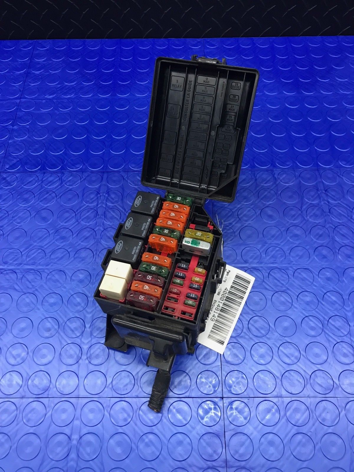Relay Ford Page 6 On A 1989 Lincoln Town Car Fuse Box Part Wire Wiring Junction Block Emrelay Em