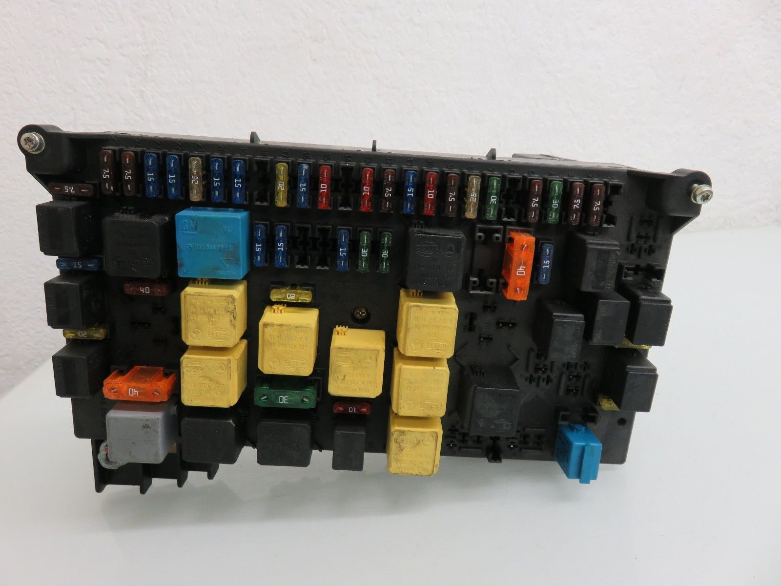 98 05 Mercedes W163 Ml320 Ml430 Ml500 Main Fuse Box Fusebox Relay Benz Module Oem A