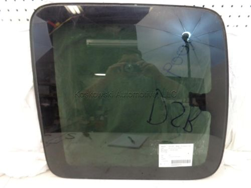 Left Rear Door Glass Window 2000 Chevy Silverado 1500 Extended Cab , DQ9482YP, 5518 B, N/A