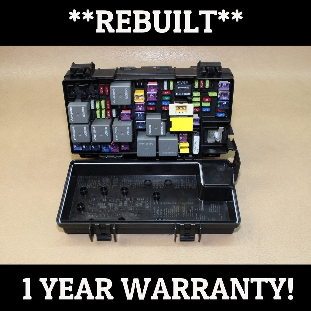 Reman 2010 Wrangler 38l Tipm Temic Integrated Fuse Box Module 92 04692298ae Does Not Apply 2009
