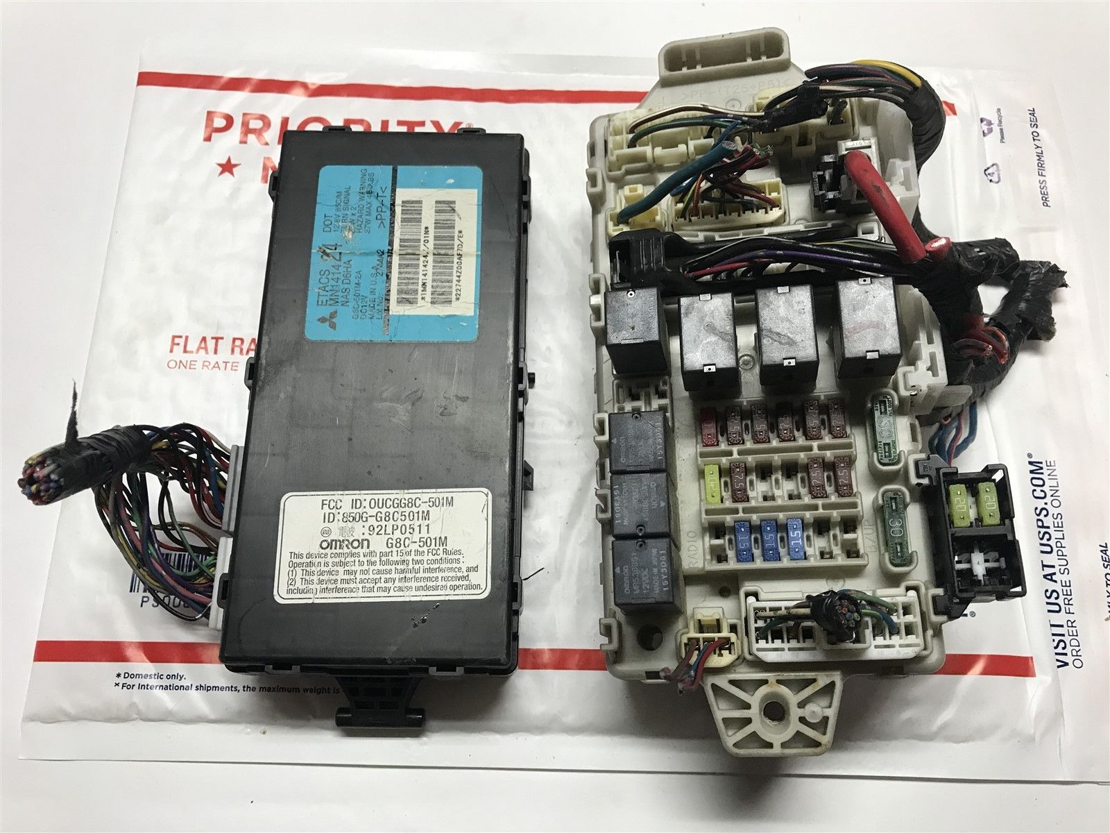 2006 Mitsubishi Endeavor Fuse Box Wiring Schematic 2004 Etacs Body Control Module With Mn141424 Does Not Apply
