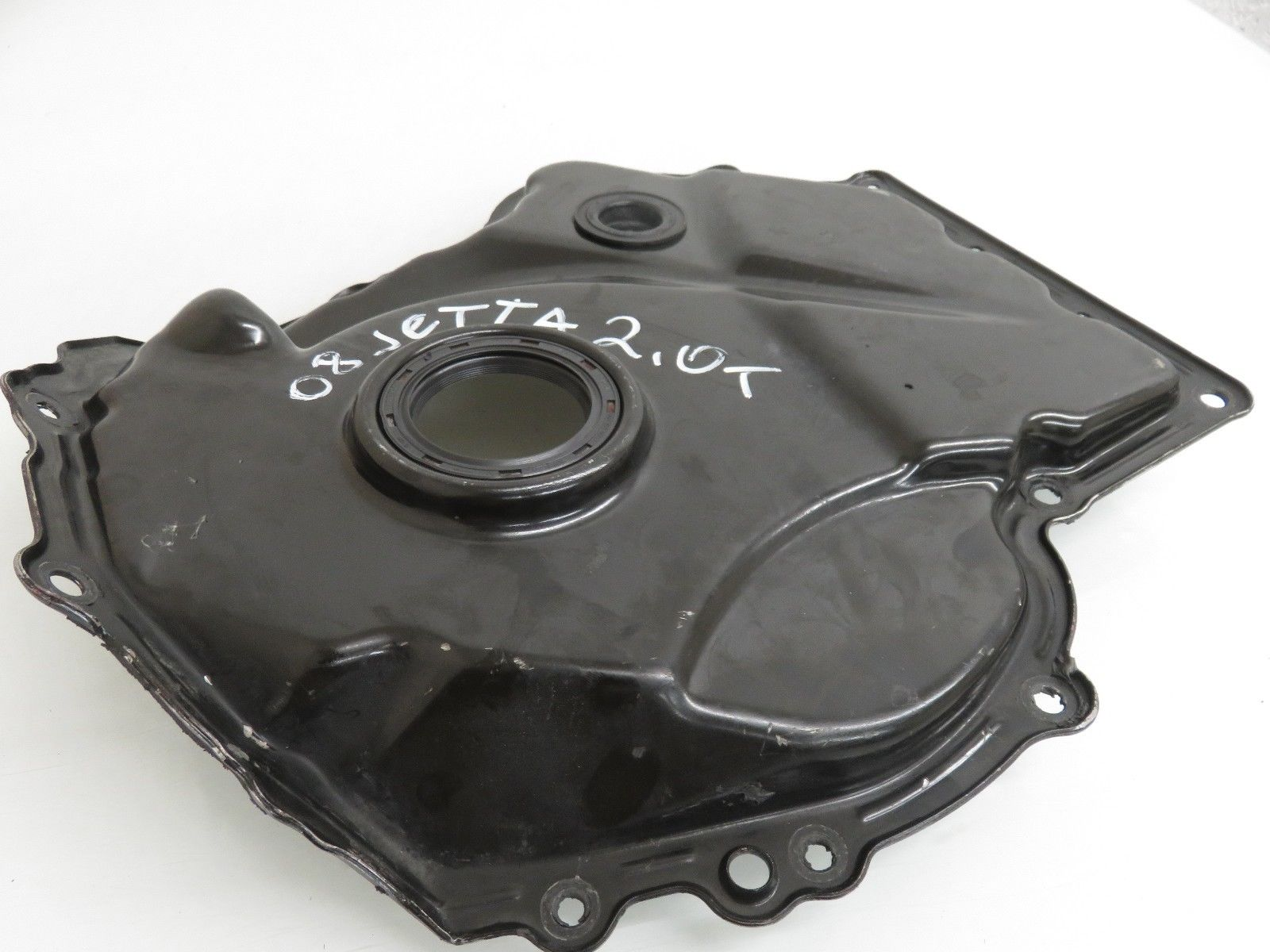 08 14 Volkswagen Jetta 20l Engine Lower Timing Chain Cover Oem Bmw 325i 06h 109 211