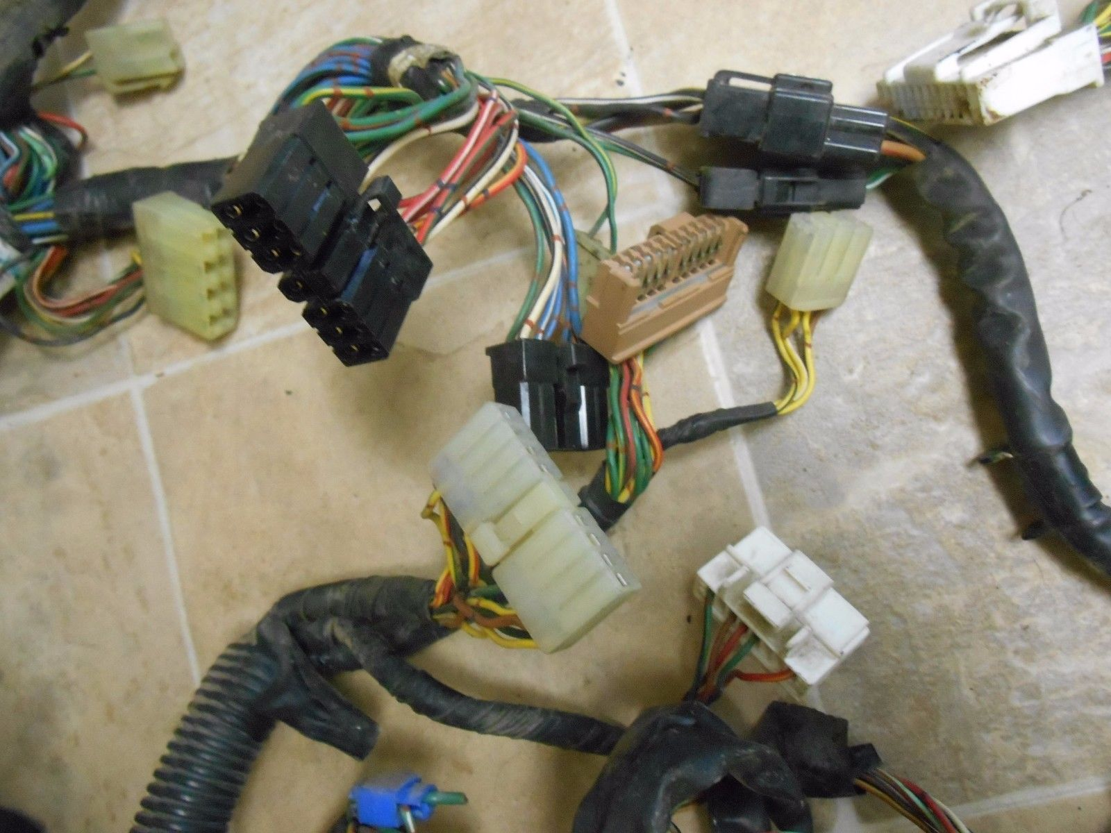 1987 Toyota 4runner Main Cab Wire Harness 22 Ret 4x4 Auto Sr5 Loaded Wiring Digitial