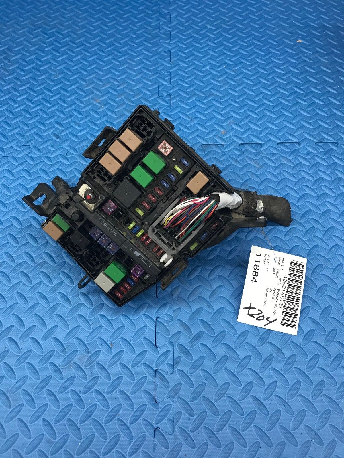 Kia Optima Part 18790 01316 Fuse Relay Wire Wiring Junction Box Vs912004c090qb Does Not Apply