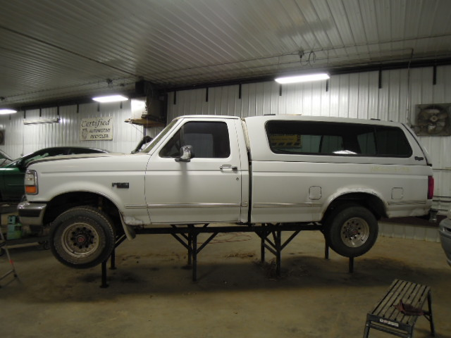 1993 FORD F150 PICKUP AUTOMATIC TRANSMISSION 2WD #20321092